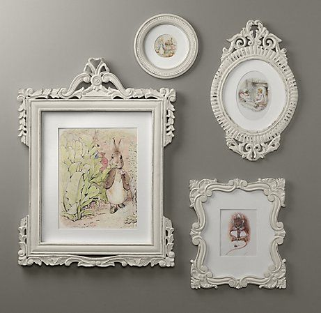 Love these frames from RH baby and child.  Thinking of getting some for the walls in the baby's room.