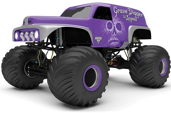 THE OFFICIAL WEBSITE OF ADVANCE AUTO PARTS MONSTER JAM MONSTER TRUCKS - Grave Digger The Legend Sports A New Look For The 2014 Monster Jam S...