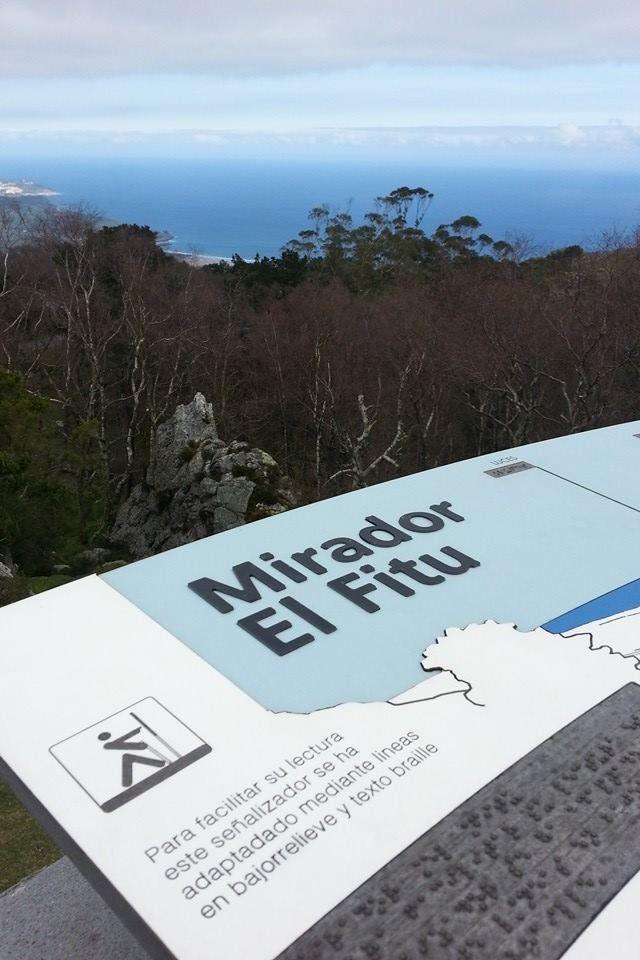Mirador del Fitu en Colunga, Parres, Asturias
