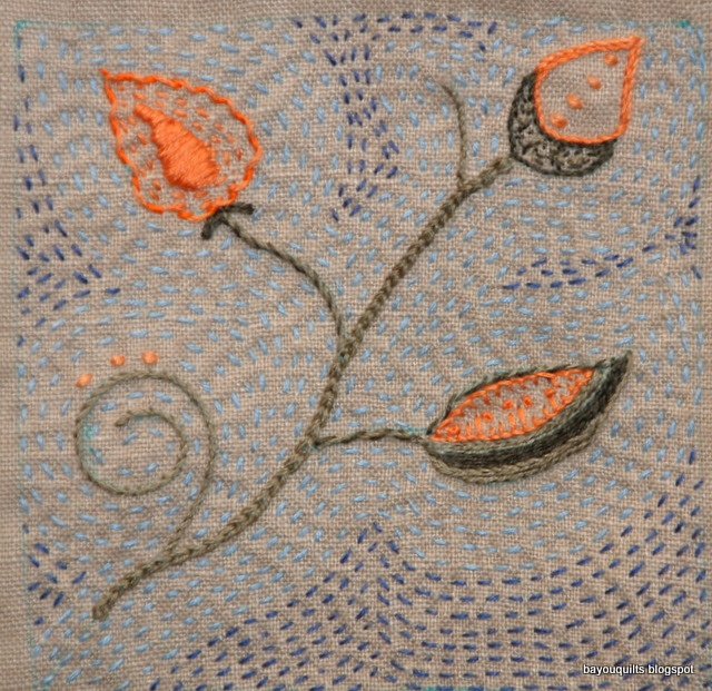 Bayou quilts embroidery my fabric pieces pinterest