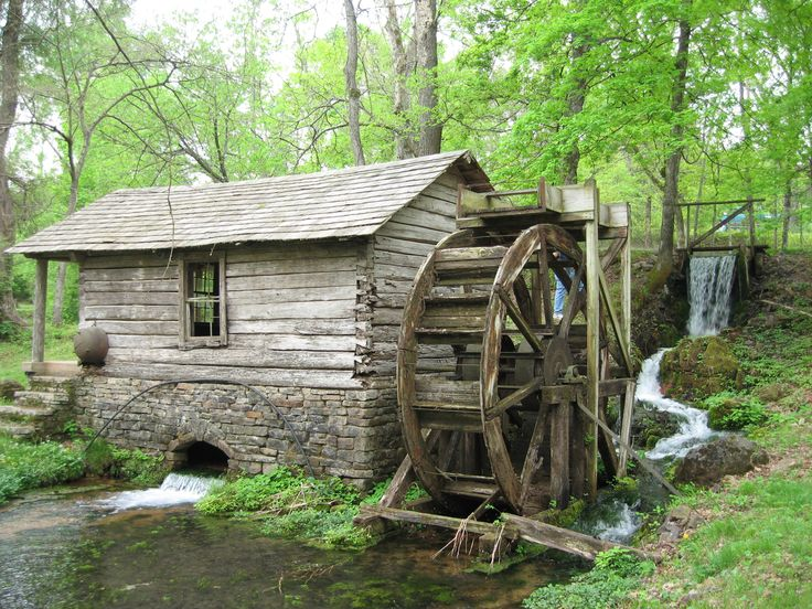 Reed Spring Mill is an old gristmill in the southeastern Missouri town of Centerville near the Black River on the edge of the Mark Twain National Forest.