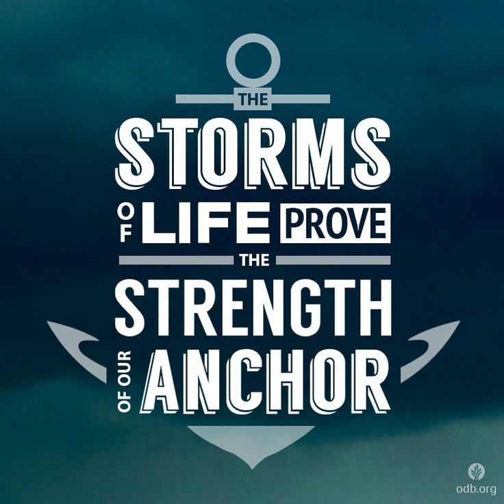 Lord, I know I don't need to fear the storms of life around me. Help me to be calm because I stand secure in You.