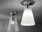 Lampada da soffitto in cristallo FLOW | Lampada da soffitto - Fabbian