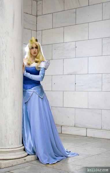 5b5ecda88 ... Sleeping Beauty blue dress construction notes from kelldar.com Disney's  Sleeping Beauty costume ...