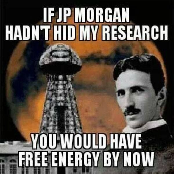 Nikola Tesla invented wireless communications, unlimitless free energy, ionosphere technology and wanted to share it with the world for FREE