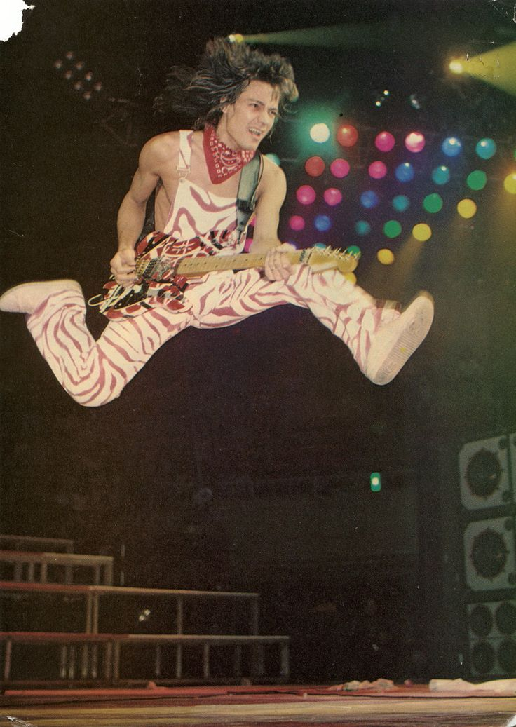 Classic Eddie Van Halen, you might as well jump!