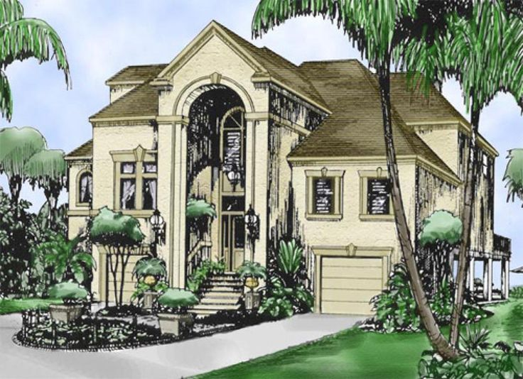 17 best images about mediterranean house plans on for Best mediterranean home designs