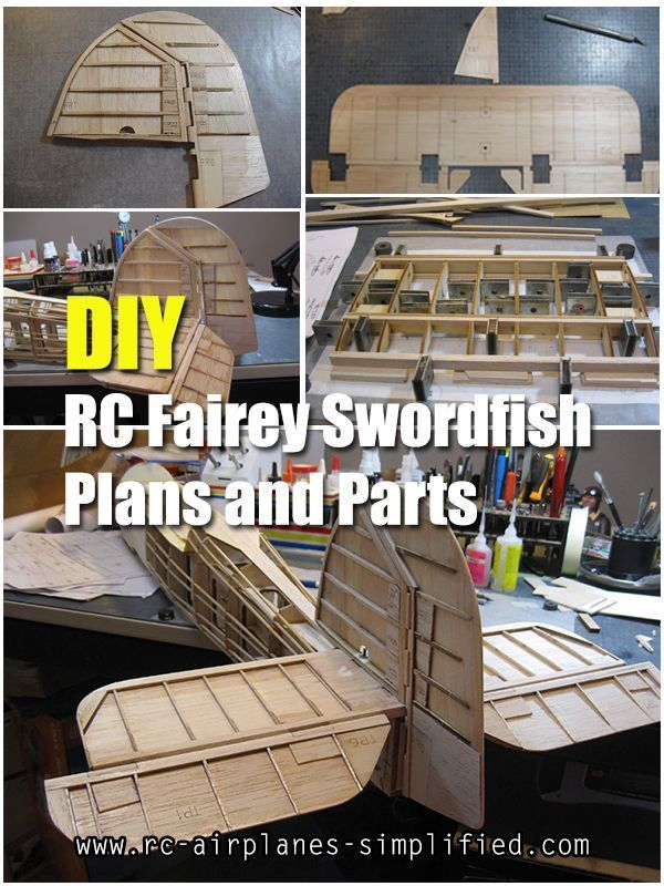 Rc Fairey Swordfish Airplane Plans Exquisite 1 10 Scale Version Of This Beautiful Navy Biplane Created By Fairey Swordfish Radio Controlled Boats Boat Radio