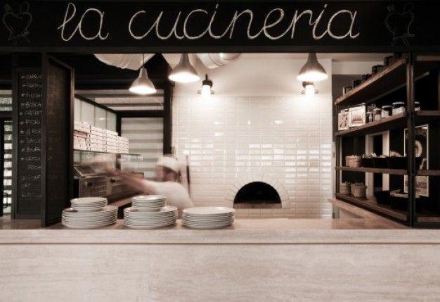 NOS DO PROJEKTOWANIA na FUTU.PL Rzymska tawerna La Cucineria zaprojektowanaprzez Noses Architectsjest przykładem harmonijnego połączenia włoskiej klasyki z nowoczesnością.