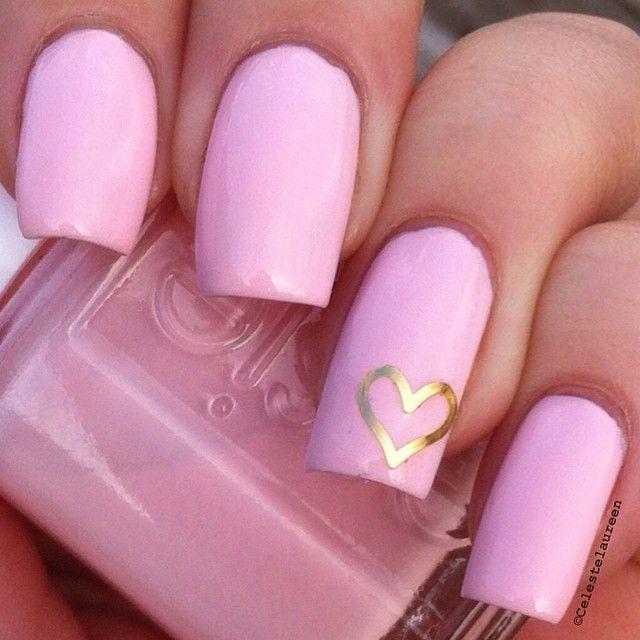 Pink nails. Essie. Nail art. Nail design. Polishes.  Polish. Polished.