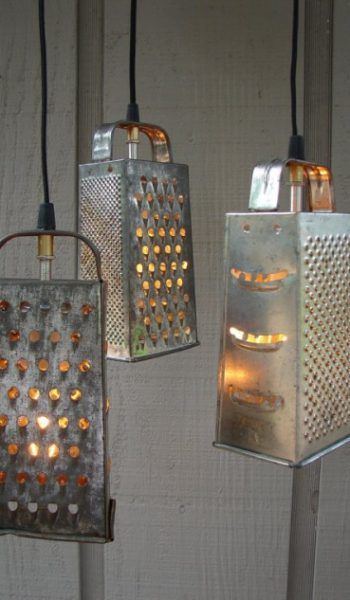 Upcycling Idee Lampen Lights Pinterest