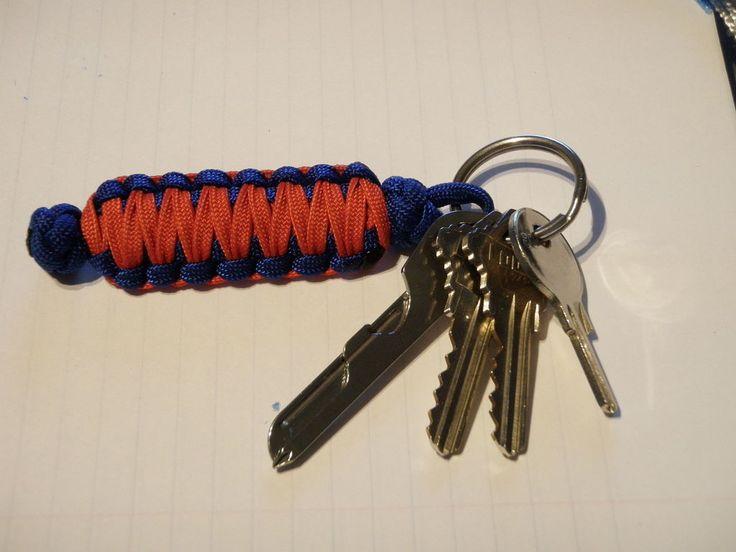 Cobra Weave Key Fob