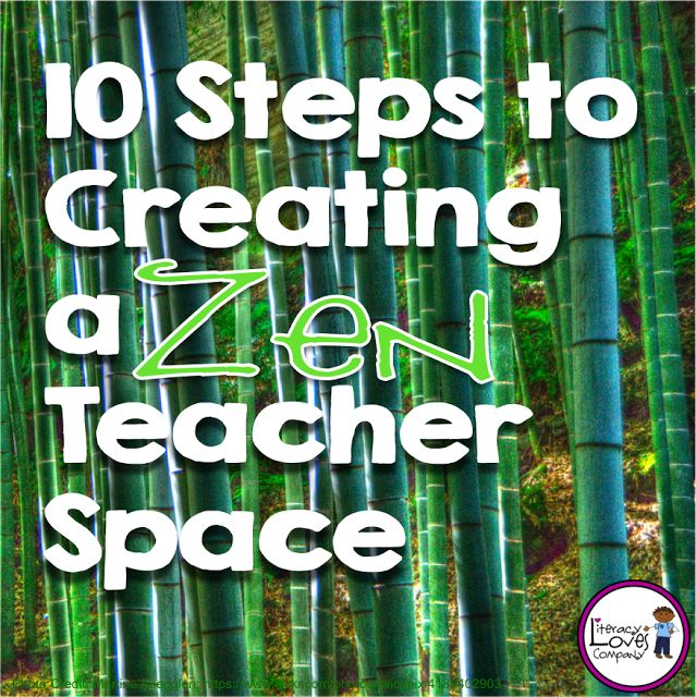 Zen Classroom Decor ~ Upper elementary bts hop steps to creating a zen
