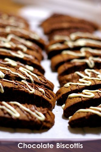 Favorite Chocolate Biscotti Recipe from: Fresh From The Oven