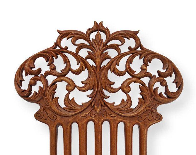 #wood_art #gift_for_her #hairpin #comb #wooden_comb #wooden_hairpin #fork #hairstick #original_gift #handmade_gift #DharmariWoodArt #baroque #baroque_comb #baroque_jewelery #baroque_accessories #woodcarving #Dharmari #hair_decoration #hair_accessories