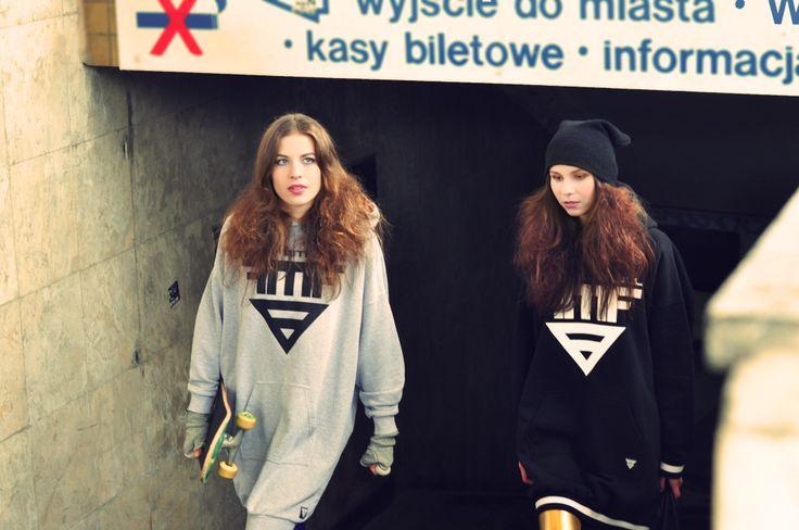 Photo: Kamila Błaszkiewicz Photography Make up: Make up Artist - Mariola Bednarska Models: Daria Rębiś i Marlena Suchenia Hair: Madamefranco Hairdesigner Design: Mery Faithfull   #muamariola #street #subway #hiphop