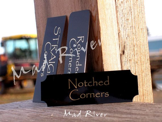 CUSTOM SIZE Laser Engraved Name Plates up to 3 x by MadRiverLaser, $7.50
