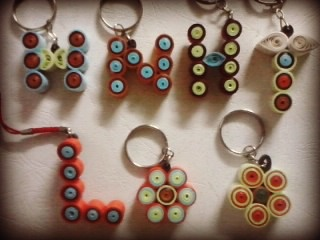 Letters Key-Chain