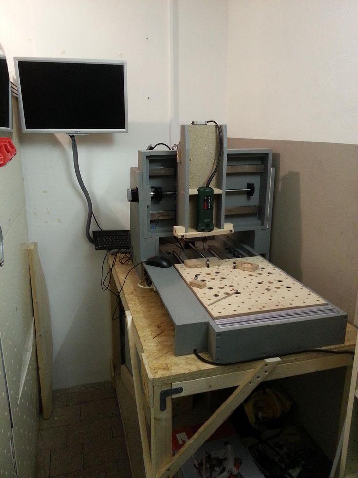 CNC-Holzfräse Bauanleitung zum selber bauen   Heimwerker-Forum