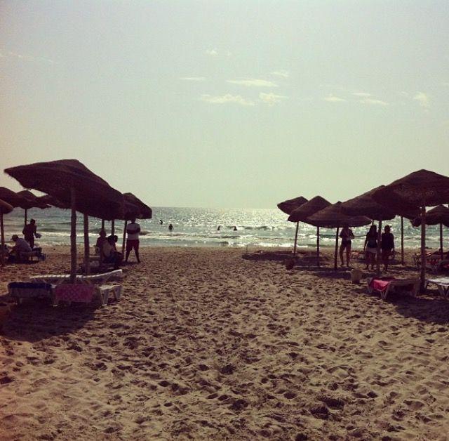 Mahdia beach. Tunisia.