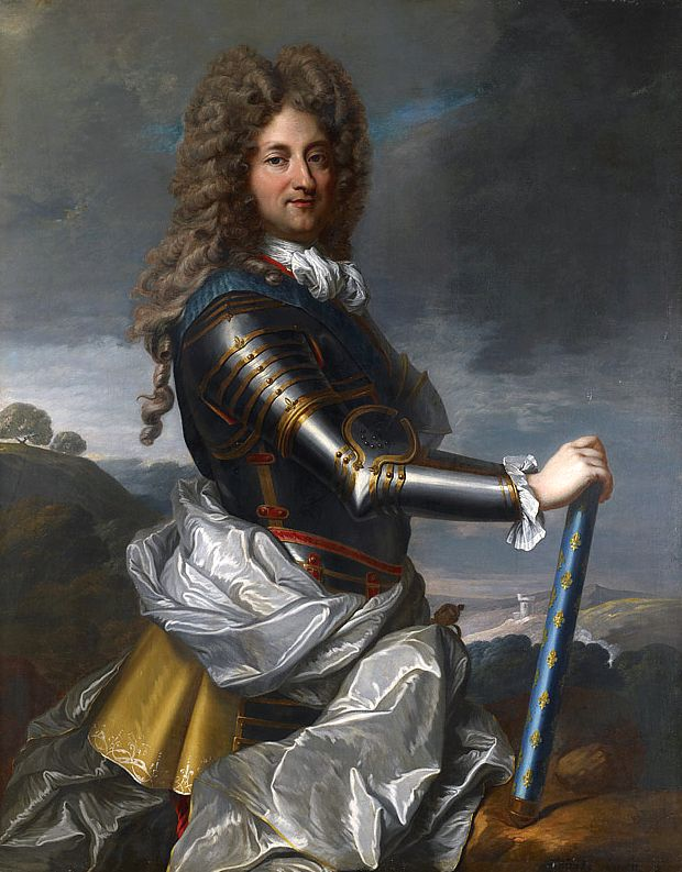 Philippe II, Duke of Orléans:1674–1723 served as regent of the Kingdom from 1715 to 1723. He was close to Louis XV and reversed some of XIV's policies.