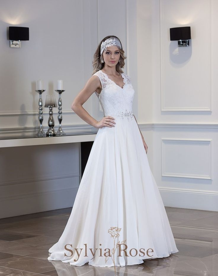 Awesome Mori Lee Strapless Fit and Flare Beaded Lace Wedding Dress