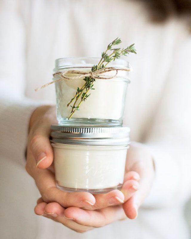 Faire une bougie à la cire de soja / diy bougie