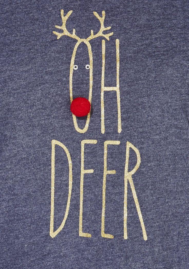 Clothing at Tesco | F&F Oh Deer Slogan Pyjamas > nightwear > New In > Women
