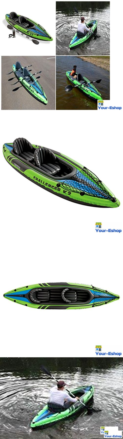 Inflatables 87090: Intex Inflatable Kayak Raft 2 Person Tandem Boat For Fishing Lake River Rafting -> BUY IT NOW ONLY: $124.69 on eBay!