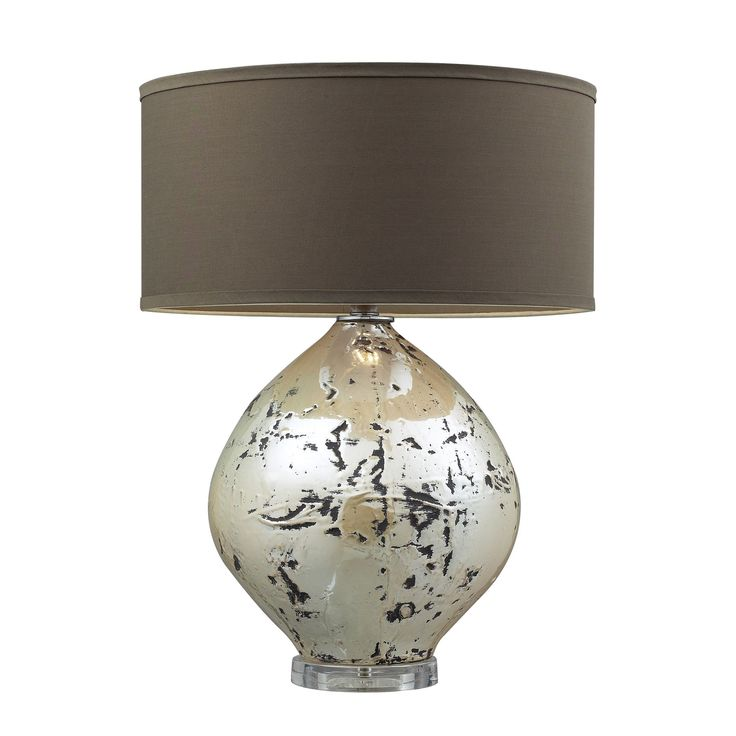 Dimond Lighting Limerick 1-light Turrit Gloss Beige Table Lamp (Turrit Gloss Beige LED Table Lamp) Off-White (Ceramic)