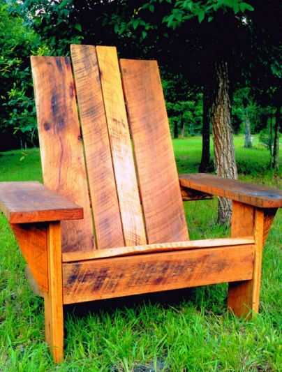 Big Man Distressed Wood Chair By Signature Chairs, Http://bigmanchair.com