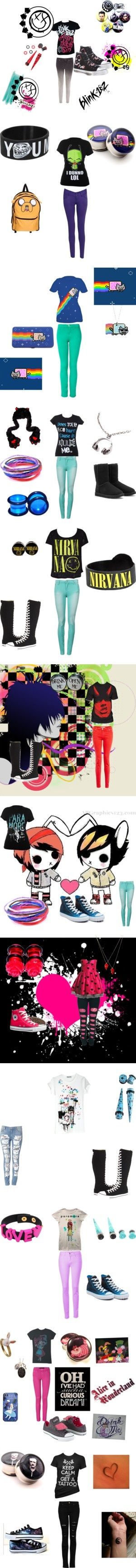 """My Sets"" by piercetheveil98 on Polyvore"