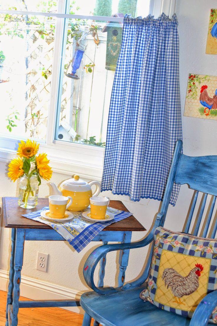 Best 25+ Blue country kitchen ideas on Pinterest