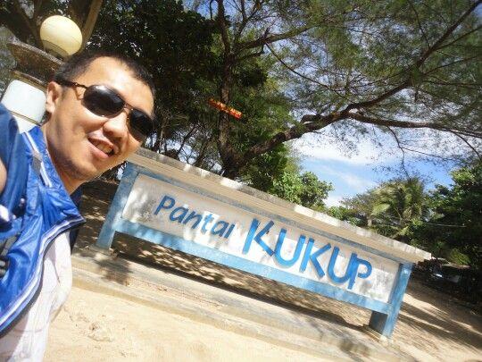 Kukup Beach entrance