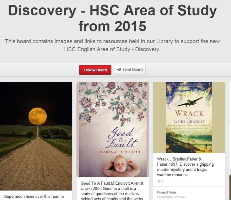Discovery - EDSE4027 - Children's and Young Adult Literature (Education) - Subject Guides at University of Sydney