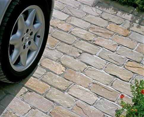 Fairstone® Setts | Fairstone Sett | Ethical Indian Sandstone Driveway Setts | Marshalls