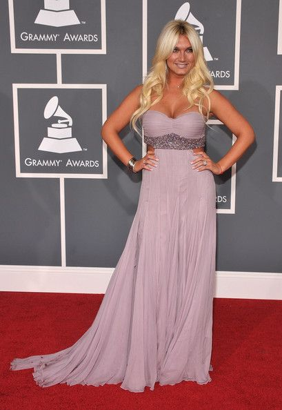 Brooke Hogan at the Grammy Awards 2009