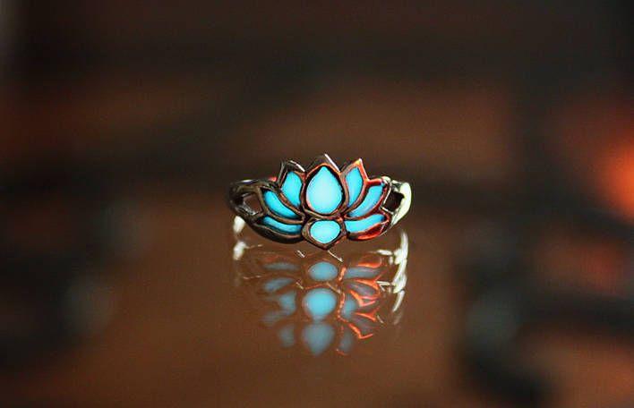 Ethereal Glow-in-the-Dark Jewelry