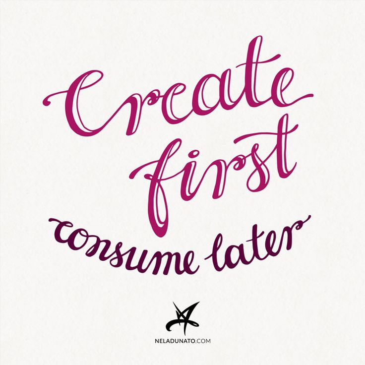 "I'll tell you what this ""super secret"" tip is straight away: create first, consume later. That's it. Simple. Not easy, though. If it were easy, more people would be doing it. I know I have a tough job of convincing you why this tip is so helpful and might radically transform your creative output. In the rest of this post, I'll try to make my best case for it, and offer some ways you can put it into practice."