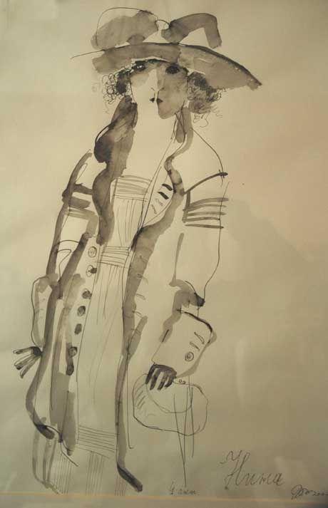 ***ПРЕКРАСНЫЙ женский образ чудеснейшей эпохи глазами Рустама ХАМДАМОВА (Россия)
