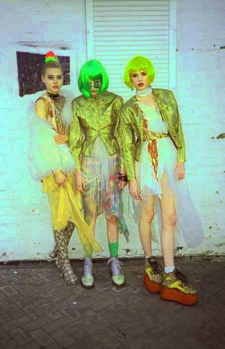 green gold grunge