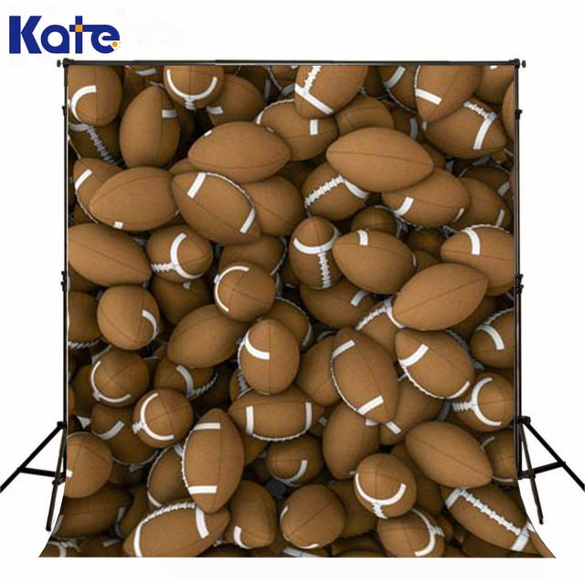KATE Brown FootballBoys Backdrops For Photography Children Backgrounds for Photo Studio