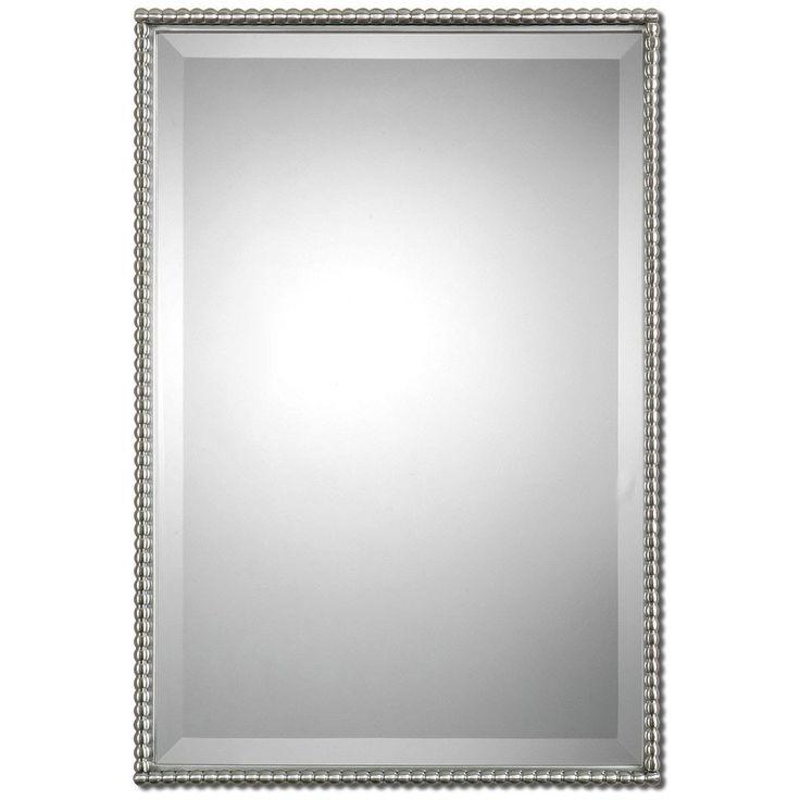 Uttermost Sherise Brushed Nickel Mirror 01113