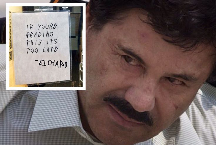 """If You're Reading This, It's Too Late"" Note Found Inside El Chapo's Cell After Escape"