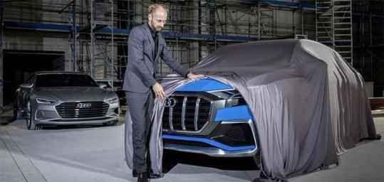 Conceito Audi Q8 E-tron – um precursor do Q8 Audi série 2019-2020: Preço, Consumo, Interior e Ficha Técnica