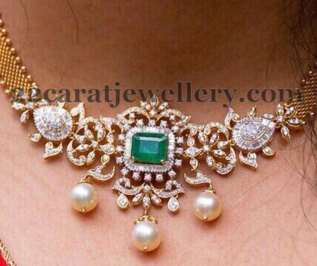 Jewellery Designs: 3 Lakhs Multi Purpose Diamond Jewelry