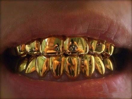 Gold teeth Repin & Follow my pins for a FOLLOWBACK!
