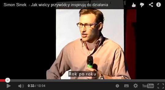 Zacznij od DLACZEGO - Simon Sinek  http://blog.przyciagajacymarketing.pl/blog/zacznij-od-dlaczego-simon-sinek