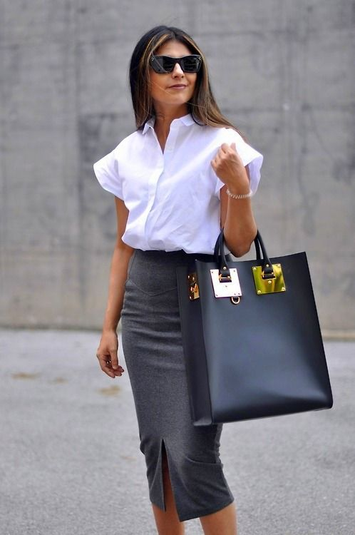 Sophie Hulme tote. Perfect bag for university or work. #streetstyle