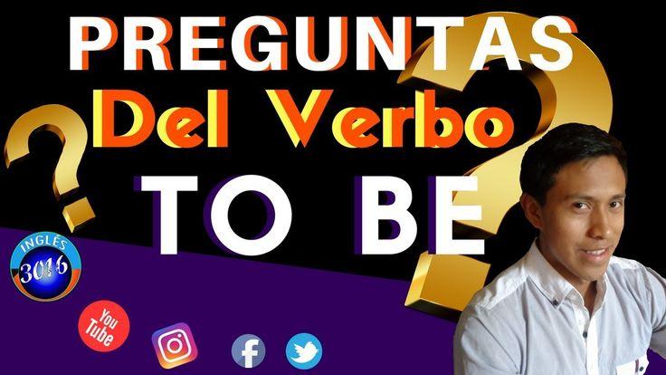 Preguntas con el verbo to be / Curso de inglés   Encuentra más ejemplos del verbo to be y aprende más ingles en nuestro sitio web.  😀👍👍👍 Visita:   🚩 http://www.ingles3016.com/2017/10/ver...  SUBSCRIBETE!😁😉😄 https://www.youtube.com/channel/UCZVx...  Síguenos:  FACEBOOK     https://www.facebook.com/aprenderingl...  INSTAGRAM   https://www.instagram.com/ingles3016/  Twitter            https://twitter.com/ingles_3016  💙💛💚